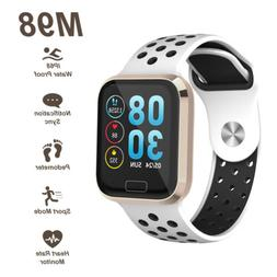 M98 1.3 inch Color Screen Fitness Step Counter Smartwatch Br