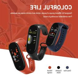 2019 M4 Sport Fitness Smart Wrist Band Pedometer Activity Tr