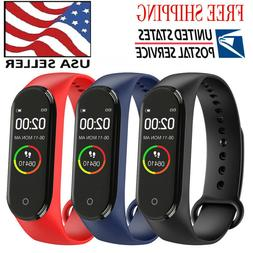 2019 Sport Fitness Smart Wrist Band Pedometer Activity M4 Tr