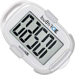 3DFitBud Simple Step Counter Walking 3D Pedometer with Lanya