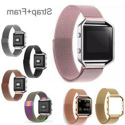 7 colors milanese magnetic stainless wrist watch