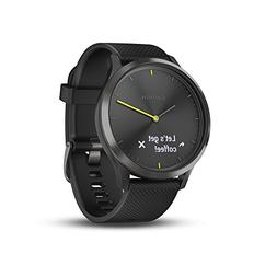 Garmin 010-01850-11 vívomove HR, Hybrid Smartwatch for Men
