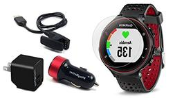 Garmin Forerunner 235  with Screen Protectors & Charging Ada