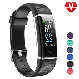 YAMAY Fitness Tracker with Heart Rate Monitor, Fitness Watch
