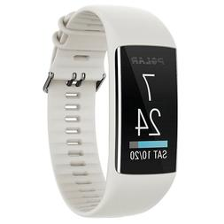 Polar A370 Fitness Tracker with 24/7 Wrist Based HR - White