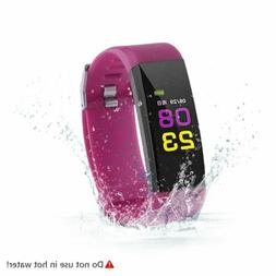 Sports Activity Sleep Tracker Fitness Heart Rate Pedometer B