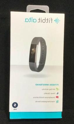Fitbit Alta Fitness Wristband Black Small iPhone Android Win