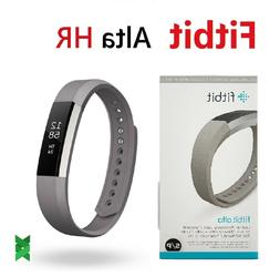 Fitbit Alta HR monitor FB408 Activity Tracker  Leather Graph