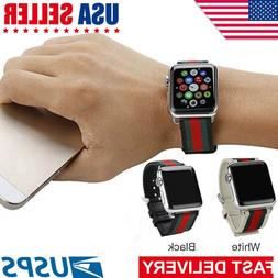Apple Watch Band Strap Sport Replacement Leather Band 38mm o