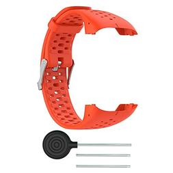 Bands for Polar M400/M430 Watch, Teepao Soft Silicone Wristb