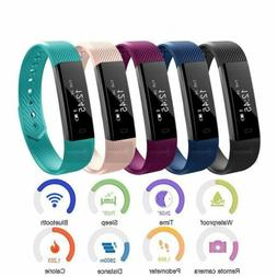 Bluetooth Smart Bracelet Heart Rate Monitor Fitness Activity