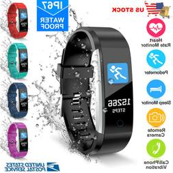 Wireless Smart Watch Fitness Activity Tracker Heart Rate For