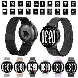 bluetooth smart watch fitness heart rate tracker