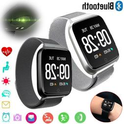 Bluetooth Smart Watch Heart Rate Monitor Activity Fitness Tr