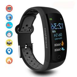 Bluetooth Smart Watch Sport Fitness Tracker for Android iOS
