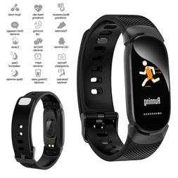 Bluetooth Smart Watch Sports Fitness Activity Heart Rate Tra