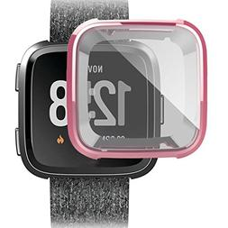 Case Cover For Fitbit Versa,WensLTD Ultra-thin Soft Plating