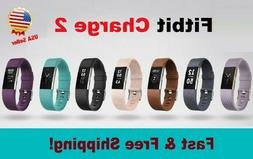 Fitbit Charge 2 Heart Rate Monitor Fitness Wristband Activit
