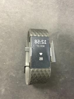 Fitbit Charge 2 HR + Fitness Wristband UNIT ONLY Gunmetal Se