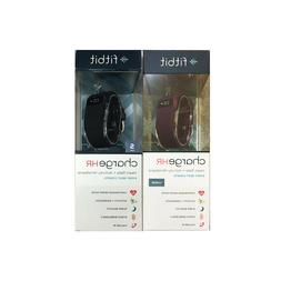 Fitbit Charge HR Activity Fitness Tracker Wristband Band Wat