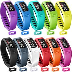 SKYLET Colorful Fitness Replacement bands for Garmin Vivofit