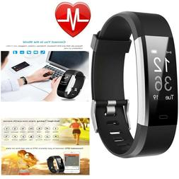 Exercise Tracker Smart Watch Heart Rate Monitor Strap Wrist
