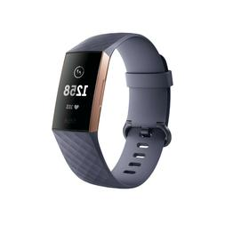 Fitbit Charge 3 Band Watch Strap Fitness Activity Tracker Bl
