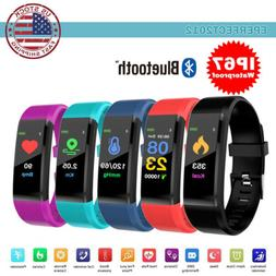 Fitness Activity Tracker Heart Rate Monitor Sport Bracelet P