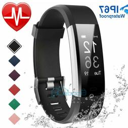 Fitness Activity Tracker Watch Fit*bit Heart Rate Monitor Pe