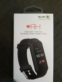 3PLUS Fitness Activity Tracker with Heart Monitor Black 3PL-