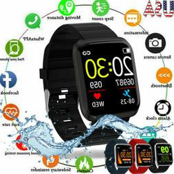 Fitness Fit#Bit Tracker Smart Watch Blood Pressure Step Coun