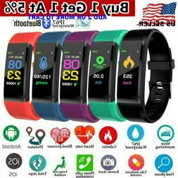 Fitness Smart Watch Activity Tracker Fitbit Android & iOS He