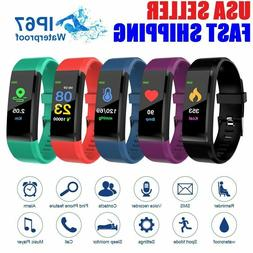 Smart Watch Bluetooth Waterproof Heart Rate Fitness Step Cal