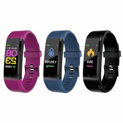 Fitness Smart Watch Activity Tracker Women Men Health Androi