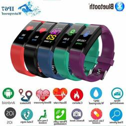 Fitness Smart Watch Activity Tracker Women Men Kid Fitbit An