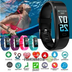 Fitness Smart Watch Activity Tracker Women Men Kids Fits And
