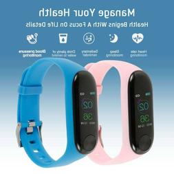 Fitness Smart Watch Band Sport Activity Tracker Kids Adult F