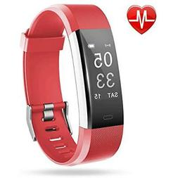 Fitness Tracker, Lintelek Heart Rate Monitor Activity Tracke