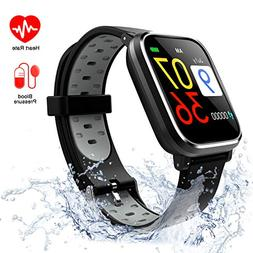 Fitness Tracker with Blood Pressure Monitor, Activity Tracke