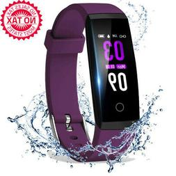Fitness Tracker Activity Health With Heart Rate Blood Pressu