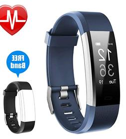 Fitness Tracker Bluetooth Heart Rate Activity Monitor Fitbit