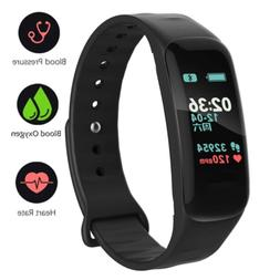 Fitness Tracker,Color Screen Activity Tracker Watch with Blo