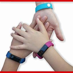 Fitness tracker features pedometer, sleep monitoring, silent