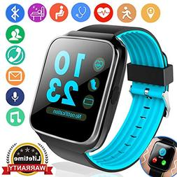 Fitness Tracker for Women Men Smart Watch with Blood Pressur