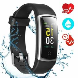 Fitness Tracker, Heart Rate Monitor Activity Tracker with Bl
