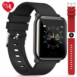 Fitness Tracker Heart Rate Monitor Color Screen Waterproof A
