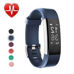 LETSCOM Fitness Tracker HR, Smart Watch with Heart Rate Moni