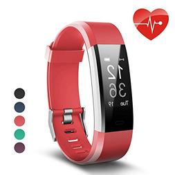 007plus Fitness Tracker HR, ID115 Plus Activity Tracker with