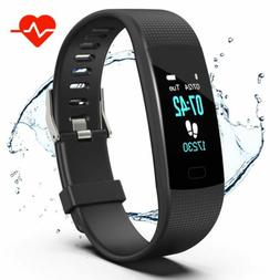 Apirka Fitness Tracker HR  Activity Tracker Watch with Heart