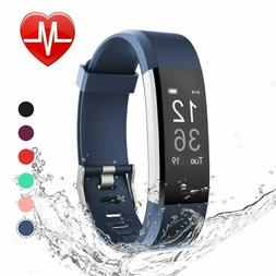 LETSCOM Fitness Tracker HR Activity Watch with Heart Rate Mo